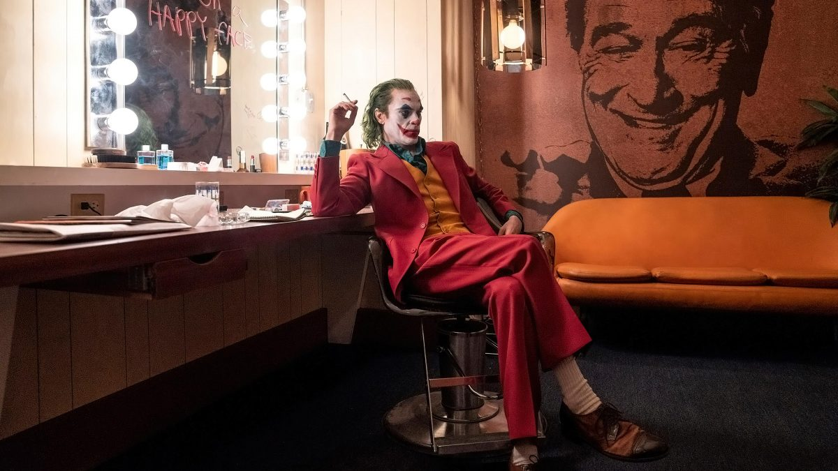 Joker (Todd Phillips, 2019), Warner Bros., USA, 35mm / 70mm, colour, sound, 122 Minutes, Joker (Joaquin Phoenix)