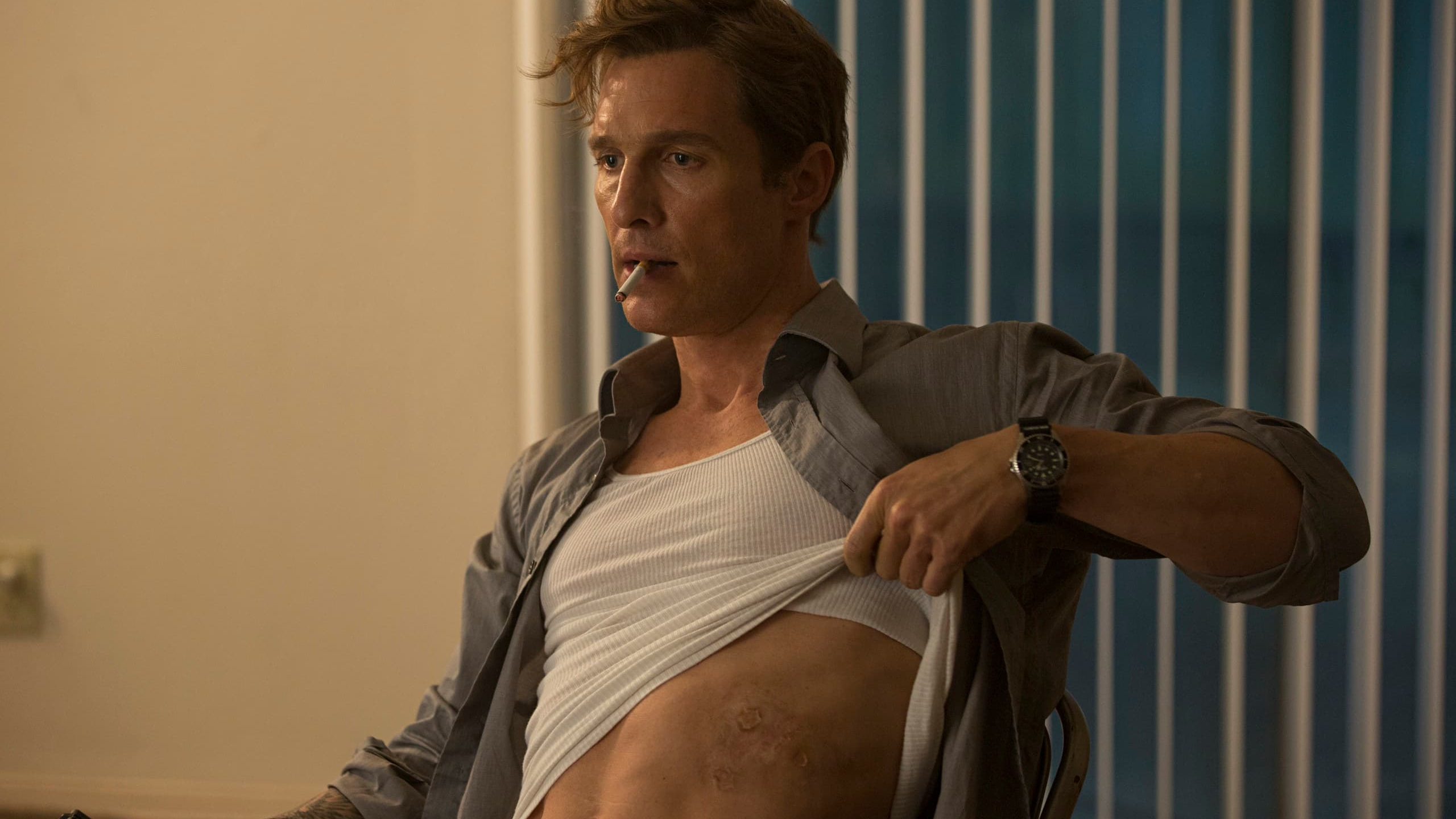 True Detective (2014), HBO, USA, 35mm, Detective Rust Cohle (Matthew McConaughey)