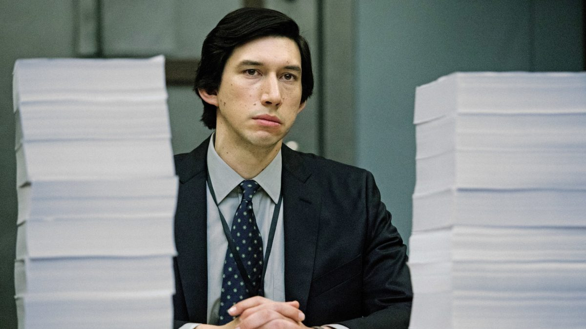 The Report (Scott Z. Burns, 2019), Amazon Studios, USA, DCP, colour, sound, 119 minutes, Daniel Jones (Adam Driver)