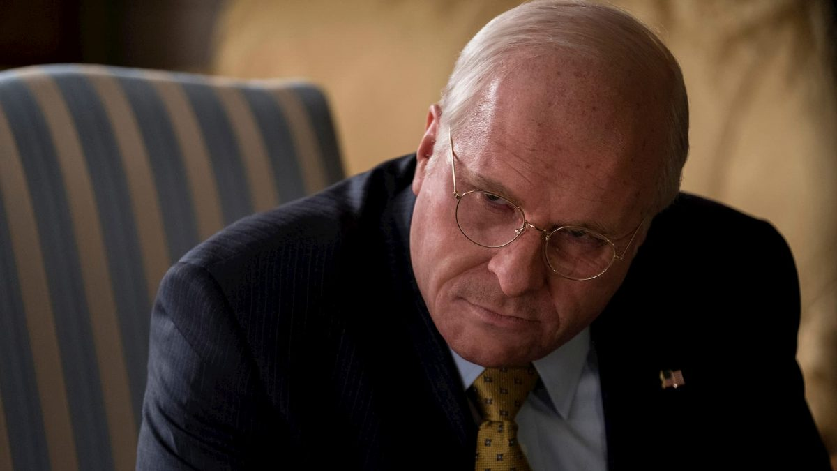 Vice (Adam McKay, 2018), Entertainment One, USA, DCP, colour, sound, 132 minutes, Dick Cheney (Christian Bale)