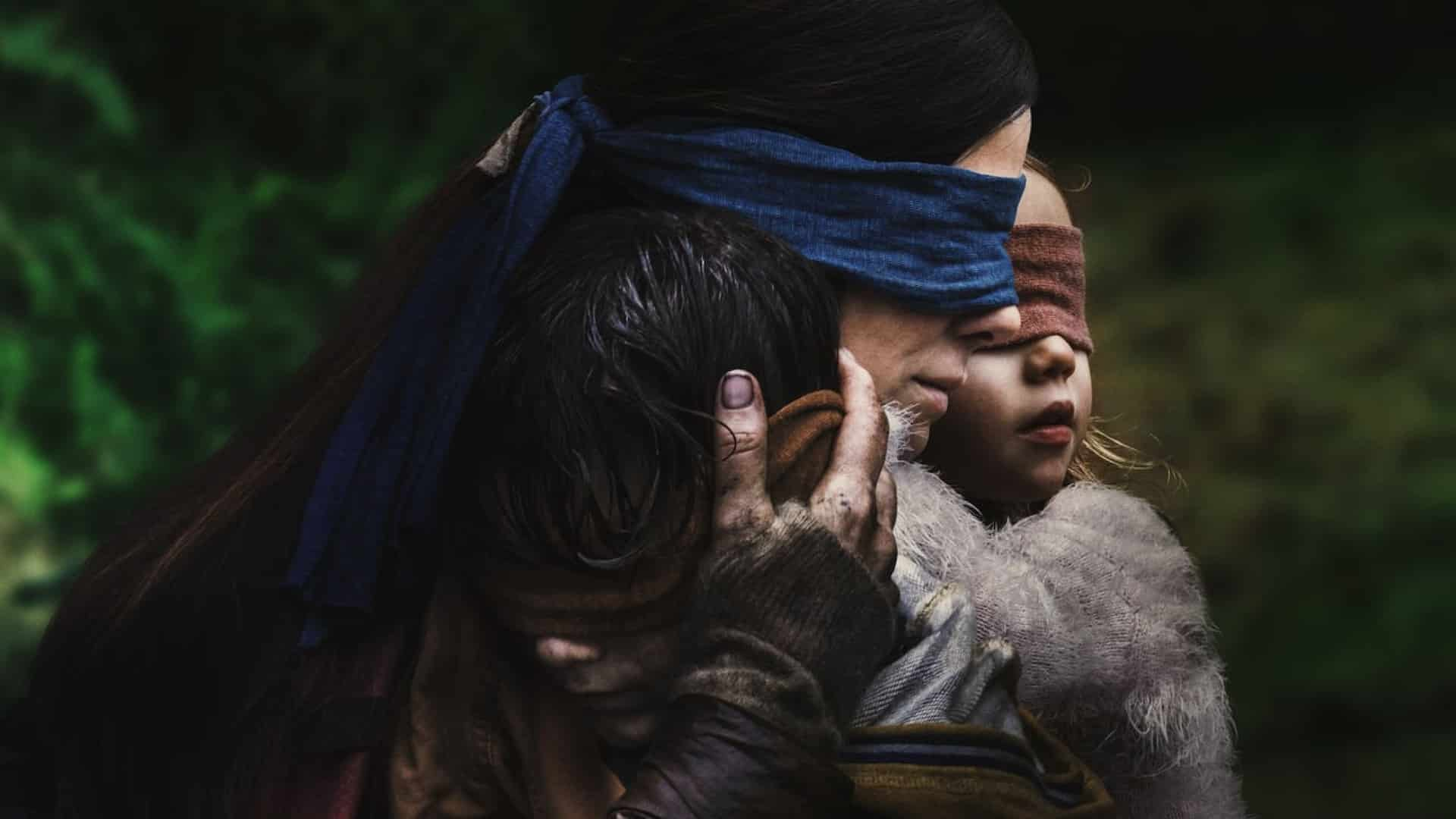 Bird Box (Susanne Brier, 2018), Netflix, USA, 35/ Digital, 124 minutes, Malorie (Sandra Bullock)