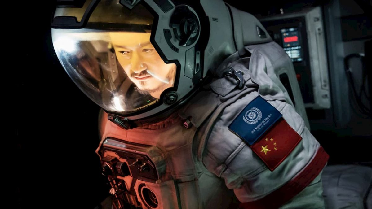 The Wandering Earth / Liu lang di qiu / 流浪地球 (Frant Gwo, 2019), Netflix, China, DCP, colour, sound, 125 minutes, Liu Peiqiang (Wu Jing)