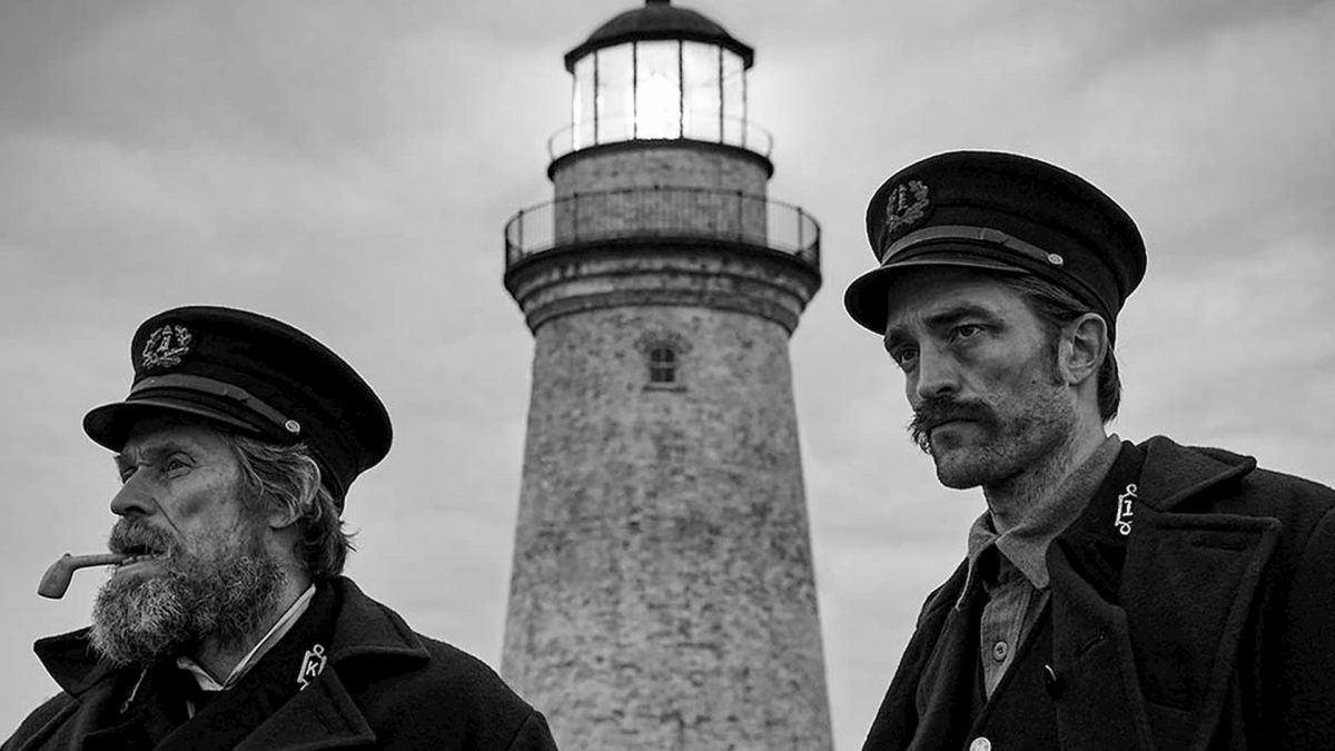 The Lighthouse (Robert Eggers, 2019), Universal Pictures, USA, DCP, black-and-white, sound, 110 minutes, Thomas Wake (Willem Dafoe), Thomas Howard (Robert Pattinson)