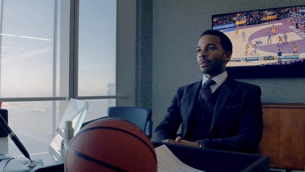 High Flying Bird (Steven Soderbergh, 2019), Netflix, USA, DCP, colour, sound, 90 minutes, Ray Burke (André Holland)