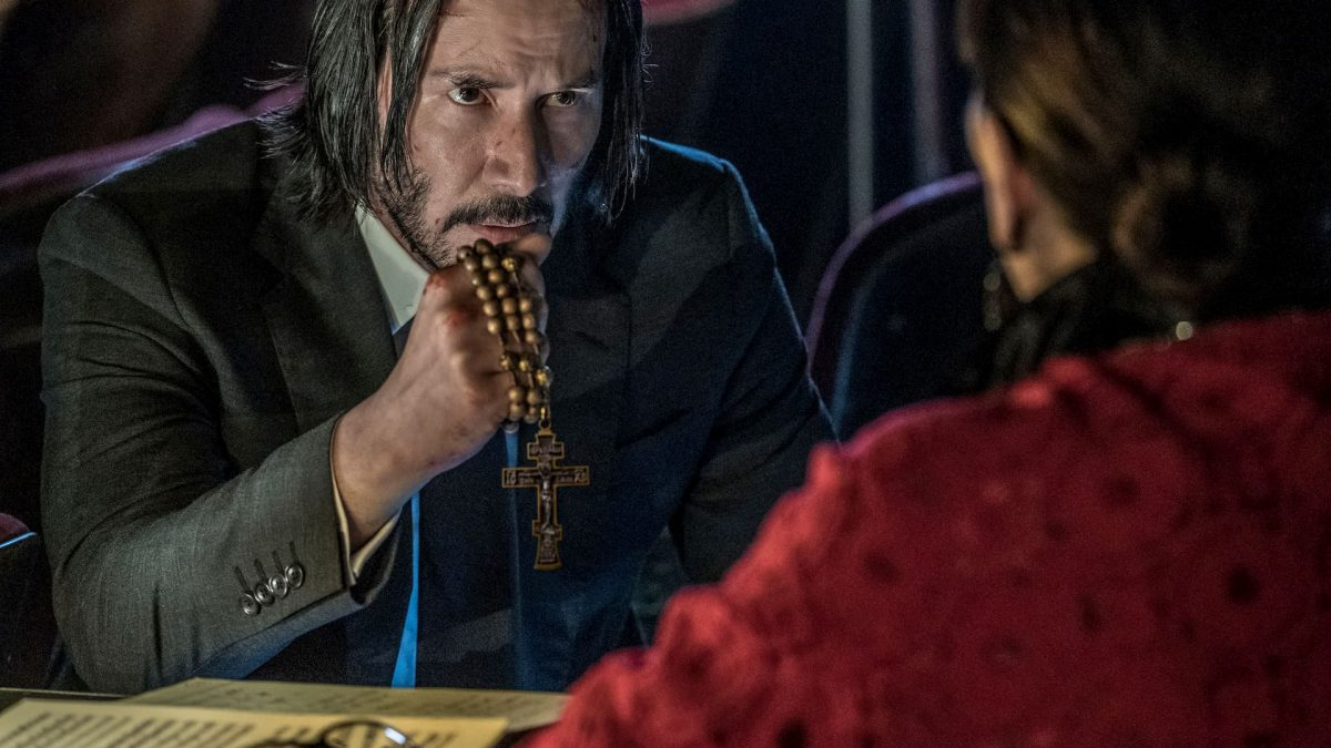 John Wick: Chapter 3 – Parabellum (Chad Stahelski, 2019), Lionsgate, USA, DCP, colour, sound, 131 minutes, John Wick (Keanu Reeves)