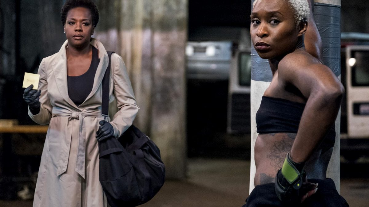 Widows (Steve McQueen, 2018), 20th Century Fox, UK & USA, D-Cinema , 130 minutes, Veronica (Viola Davis) / Belle (Cynthia Erivo)