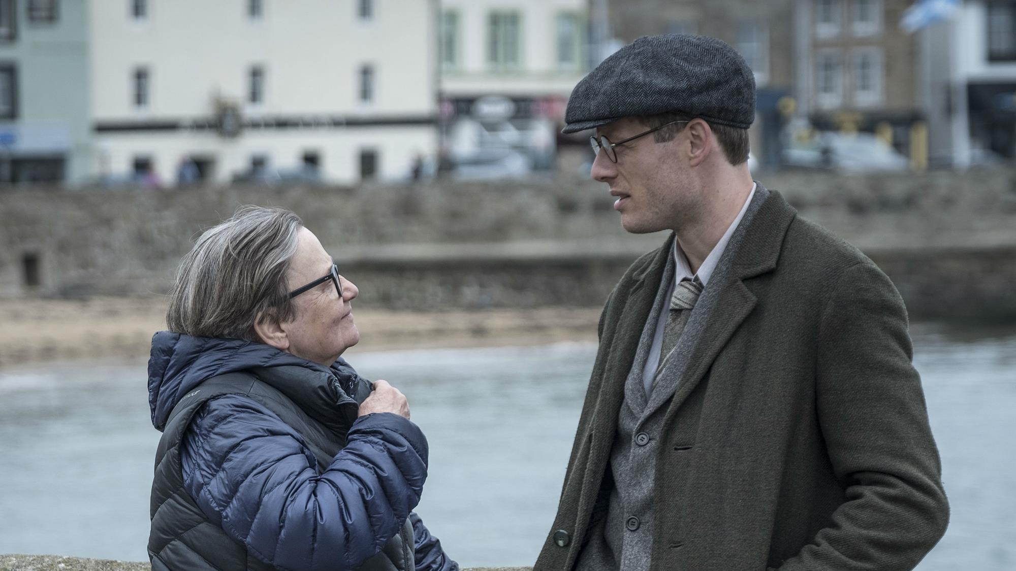 Agnieszka Holland, James Norton