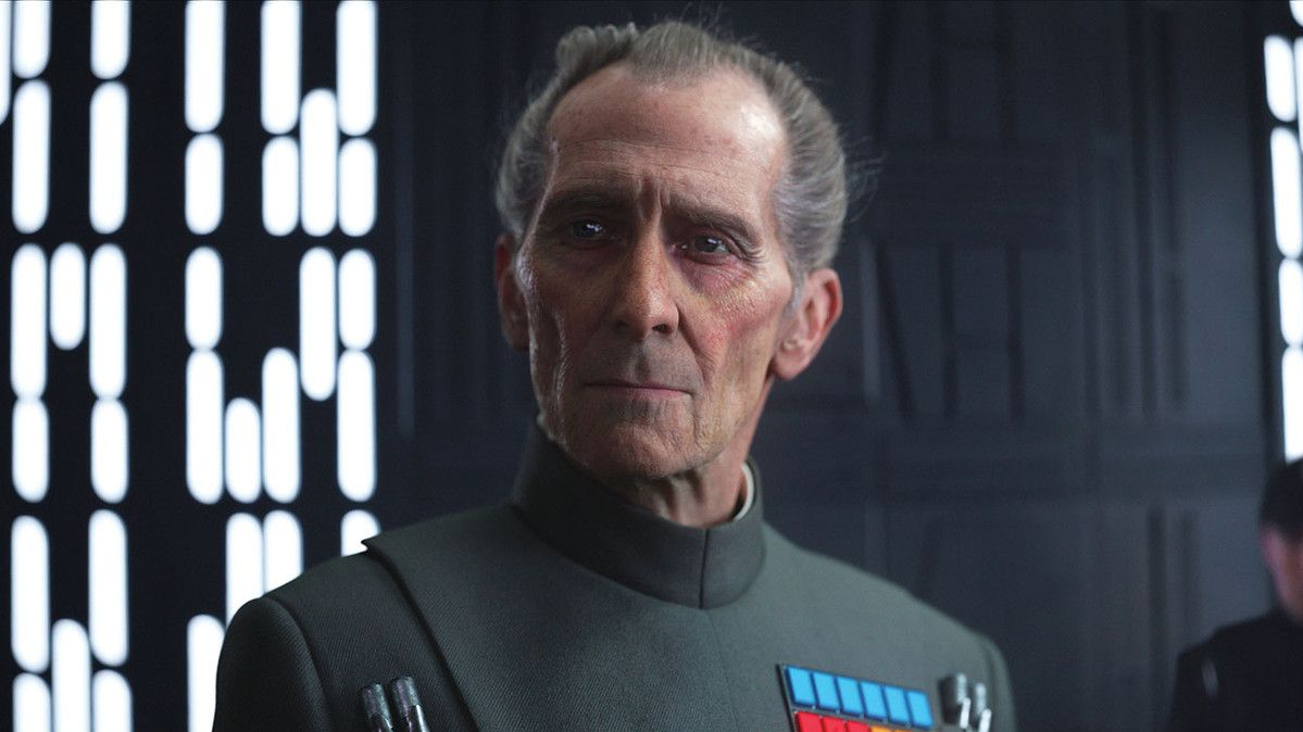 Rogue One: A Star Wars Story (Gareth Edwards, 2016), Walt Disney Pictures, 133 minutes, Governor Tarkin (Guy Henry)