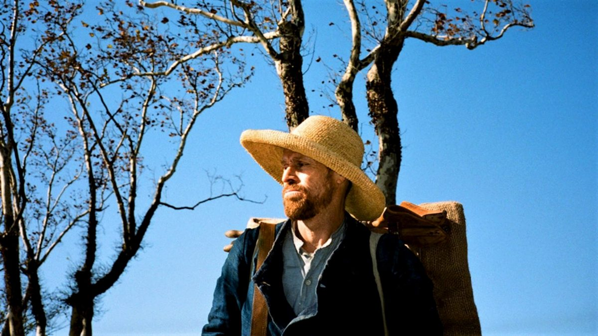 At Eternity's Gate (Julian Schnabel, 2018), Curzon Artificial Eye, USA / UK / France, D-Cinema, 110 minutes, Vincent van Gogh (Willem Dafoe)