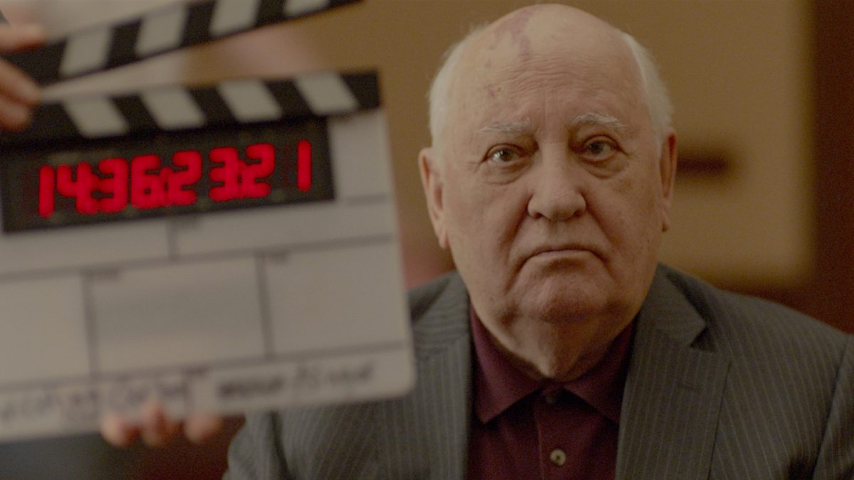 Meeting Gorbachev (Werner Herzog & André Singer, 2018), Werner Herzog Filmproduktion, UK / Germany / USA, colour, sound, 90 minutes
