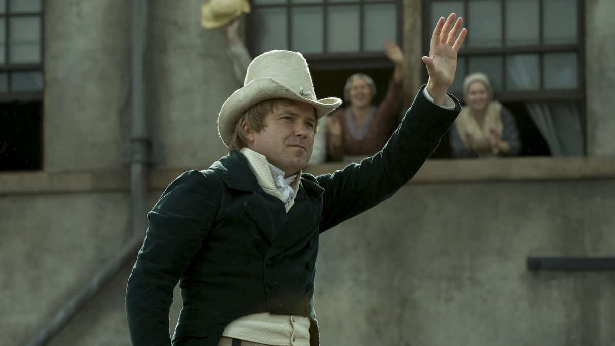 Peterloo (Mike Leigh, 2018), Entertainment One, United Kingdom, DCP, 154 minutes, Henry Hunt (Rory Kinnear)