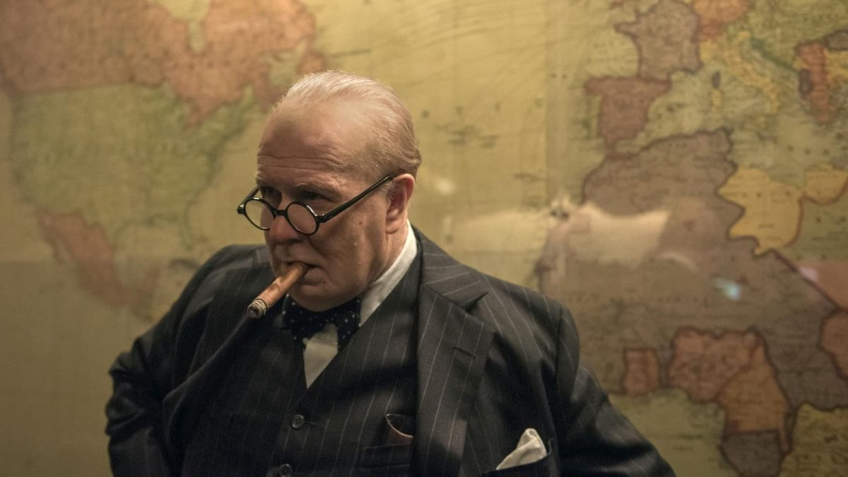 Darkest Hour (Joe Wright, 2017), Universal Pictures International , UK, D-Cinema, 125 minutes, Winston Churchill (Gary Oldman)