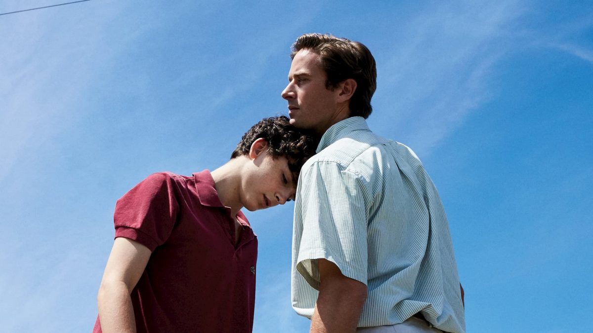 Call Me by Your Name (Luca Guadignino, 2017), Sony Pictures Releasing, USA & Italy, DCP, 132 minutes, Oliver (Armie Hammer), Elio (Timothée Chalamet)