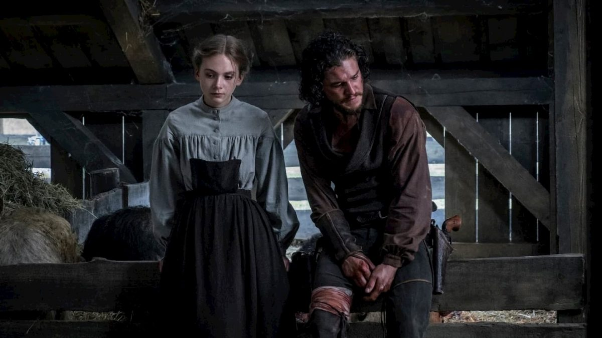 Brimstone (Martin Koolhoven, 2016), Thunderbird Releasing, Netherlands, France, Germany, Belgium, UK, Sweden, US, DCP, colour, sound, 148 minutes, Joanna (Emilia Jones), Samuel (Kit Harrington)