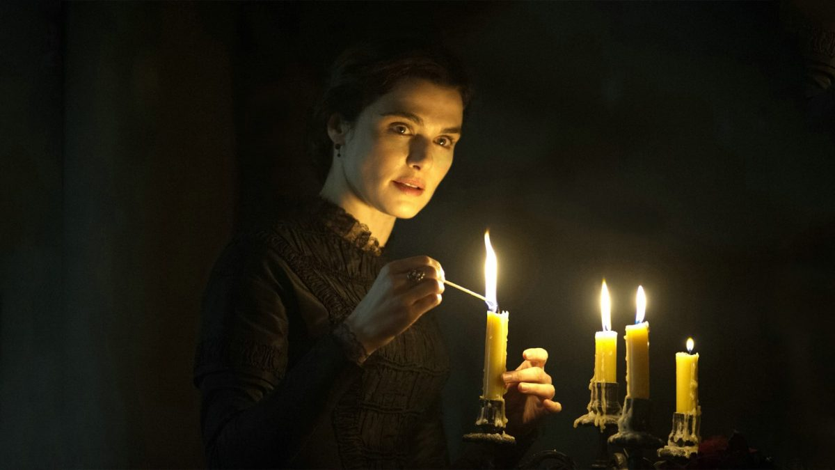 My Cousin Rachel (Roger Michel, 2017), Twentieth Century Fox Film Company, UK & US, D-Cinema, 106 minutes, Rachel Ashley (Rachel Weisz)