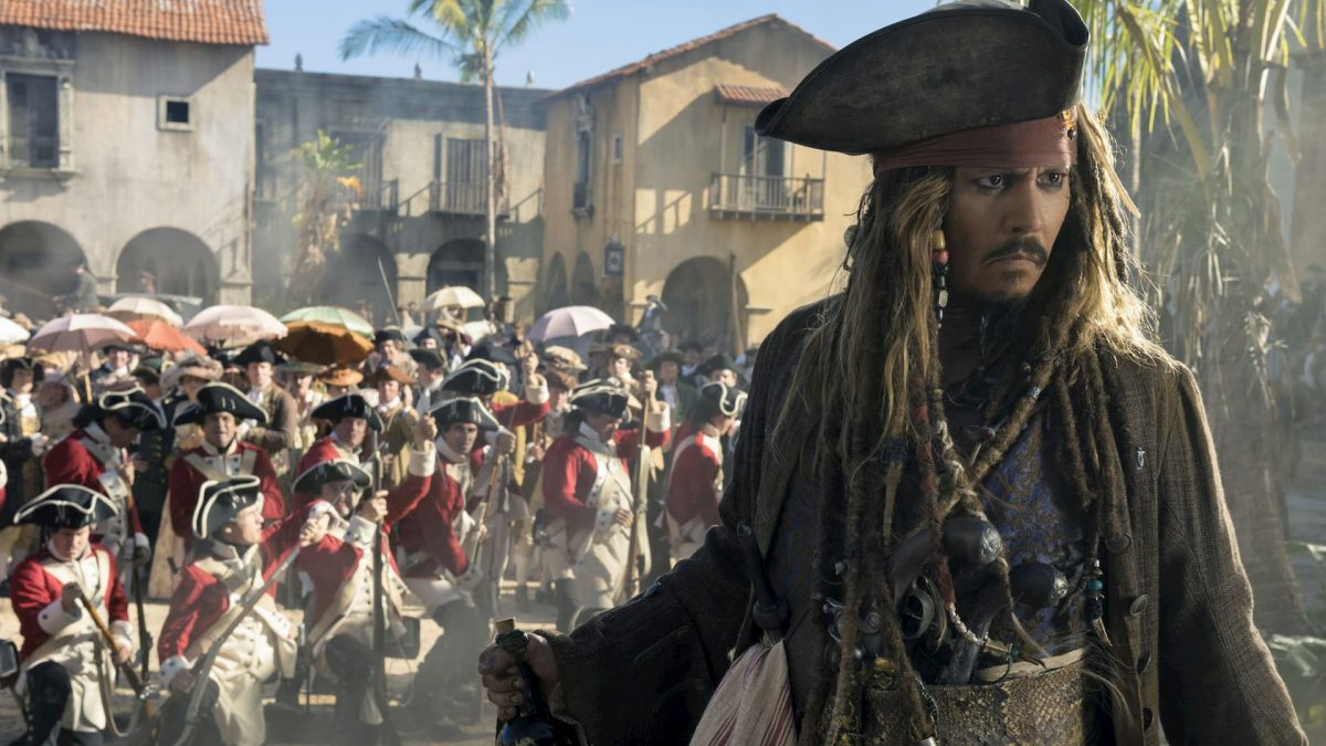 Pirates of the Caribbean: Salazar's Revenge (Joachim Rønning & Espen Sandberg, 2017), Walt Disney Studios Motion Pictures, USA, D-Cinema, 128 minutes, Captain Jack Sparrow (Johnny Depp)