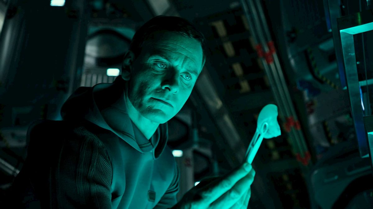 Alien: Covenant (Ridley Scott, 2017), 20th Century Fox, USA & UK, D-Cinema, 122 minutes, David / Walter (Michael Fassbender)