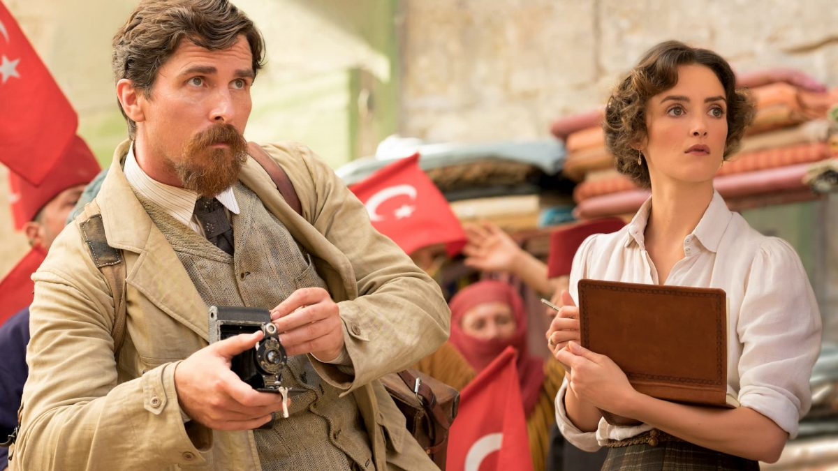 The Promise (Terry George, 2016), Entertainment One, USA, D-Cinema, 132 minutes, Chris Myers (Christian Bale)
