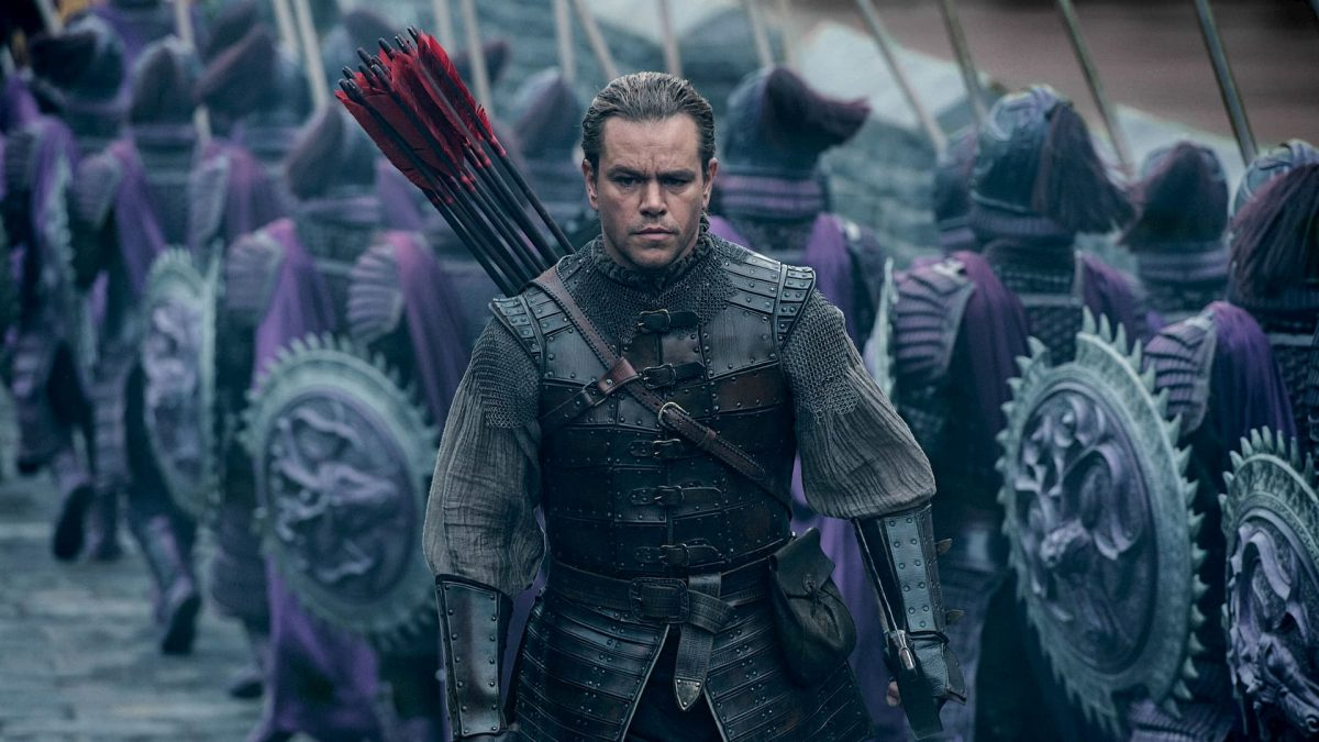 The Great Wall / 长城 (Zhang Yimou, 2016), Universal Pictures International , China & USA, D-Cinema, 103 minutes, William (Matt Damon)