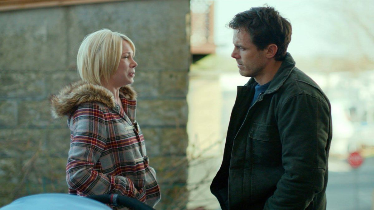 Manchester by the Sea (Kenneth Lonergan, 2016), StudioCanal, USA, D-Cinema, 134 minutes, Randi Chandler (Michelle Williams), Lee Chandler (Casey Affleck)