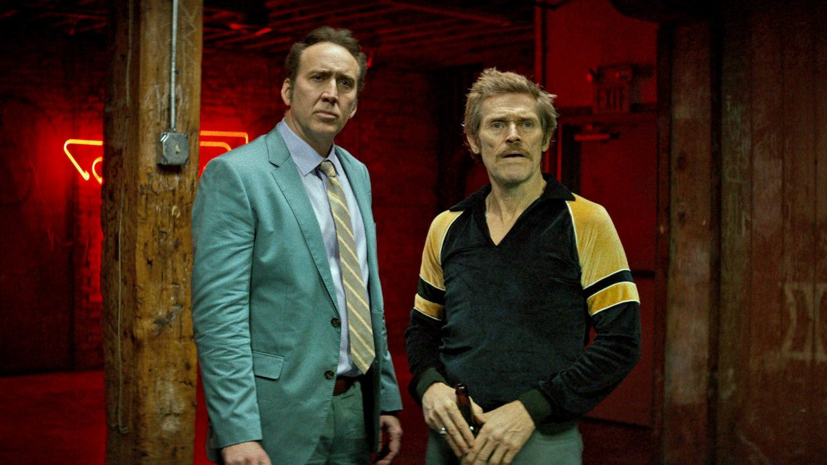 Dog Eat Dog (Paul Schrader, 2016), Signature Entertainment, USA, DCP, 91 minutes, Troy (Nicolas Cage), Mad Dog (Willem Dafoe)
