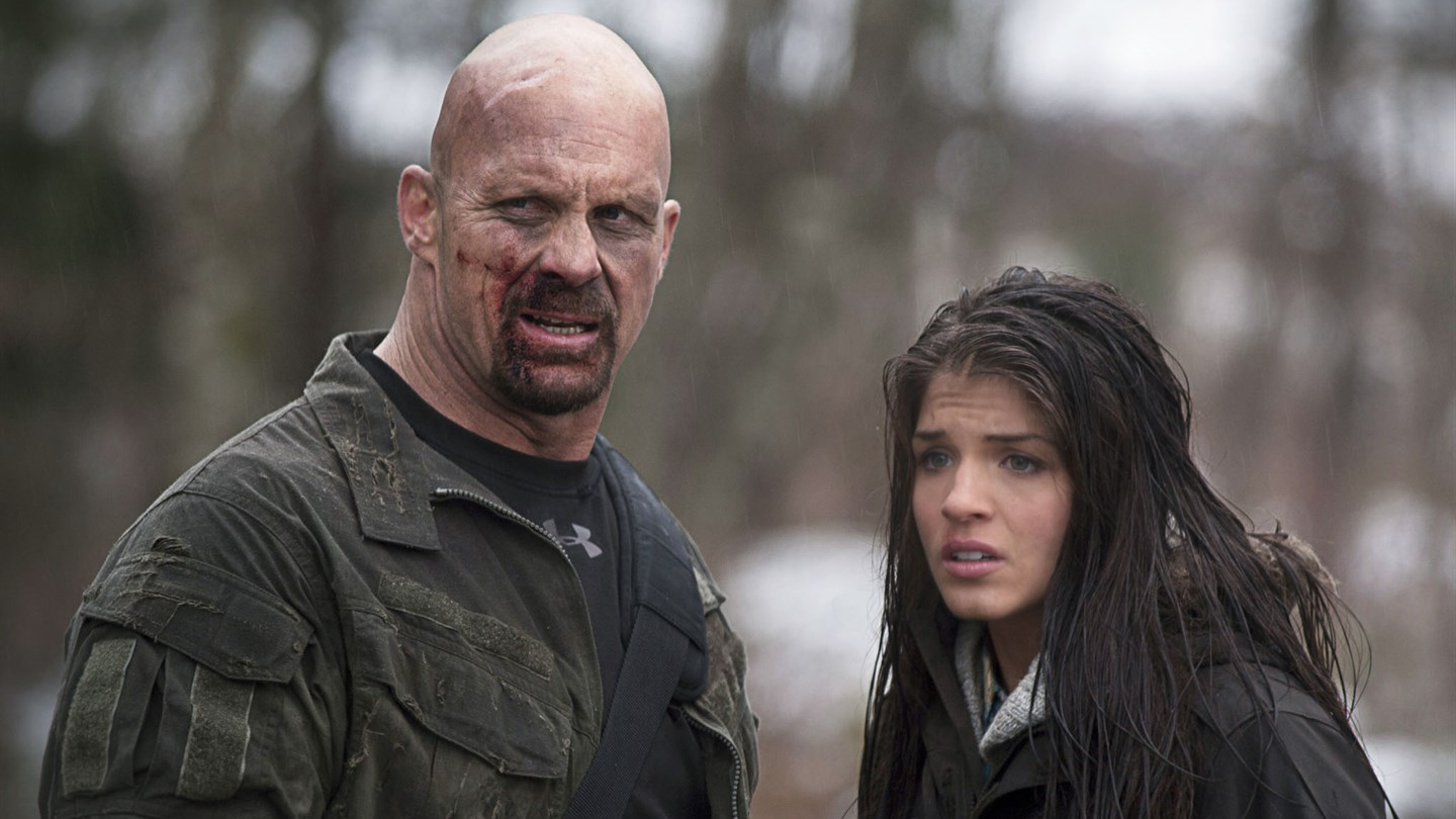 Hunt to Kill (Keoni Waxman, 2010), Anchor Bay Entertainment, Canada, HD Video, 98 minutes, Jim Rhodes (Steve Austin), Kim Rhodes (Marie Avgeropoulos)