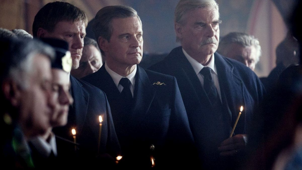 Kursk: The Last Mission (Thomas Vinterberg, 2018), Signature Entertainment, France / Belgium, DCP, colour, sound, 117 minutes, Commodore David Russell (Colin Firth)